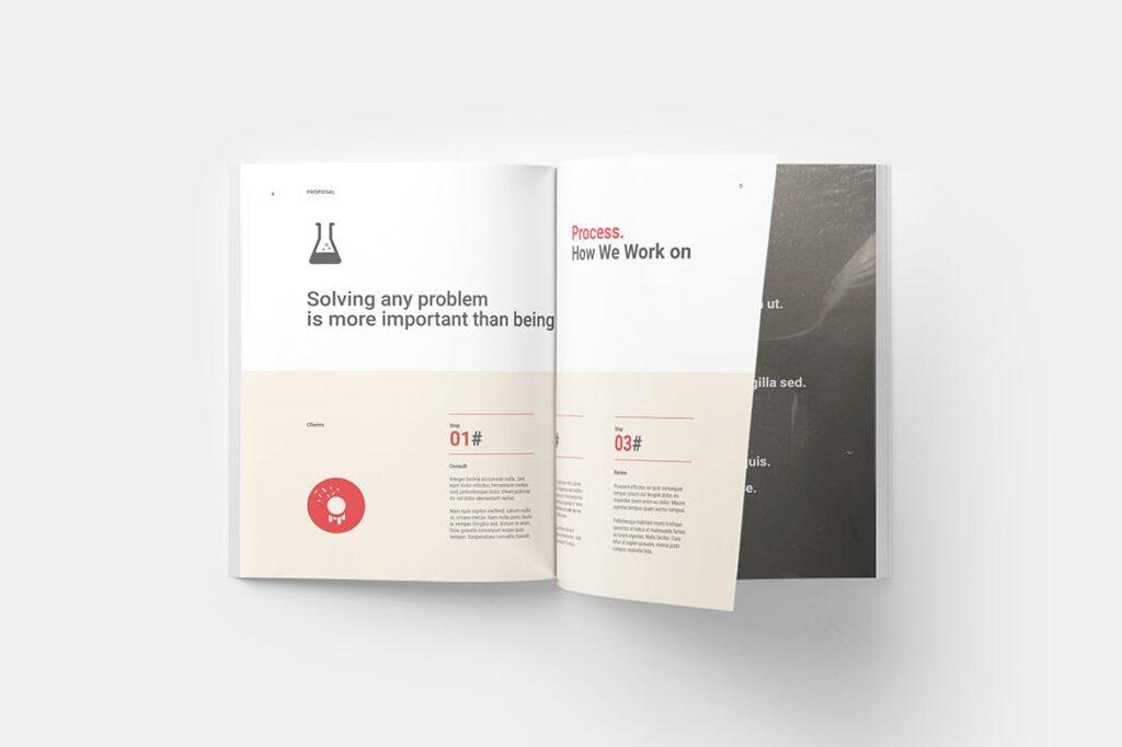 企业商业计划书企业内部提案模板Proposal插图(1)