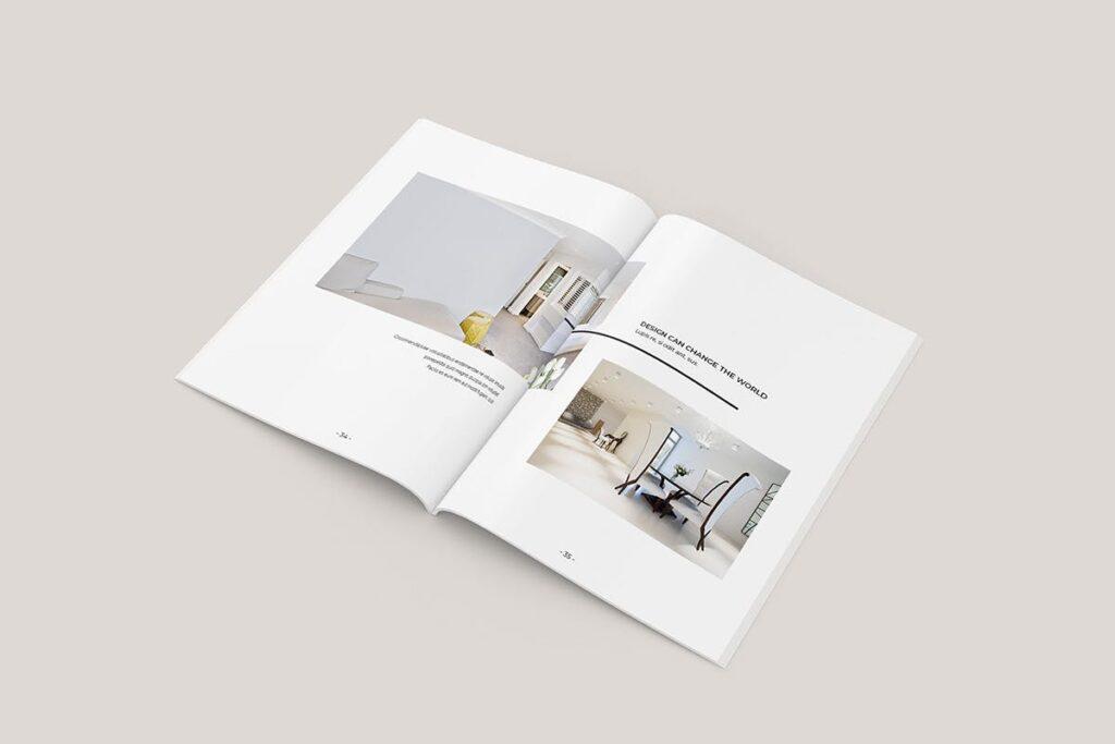 家居类企业宣传册/提案画册杂志模版Sirius Proposal Template插图(2)