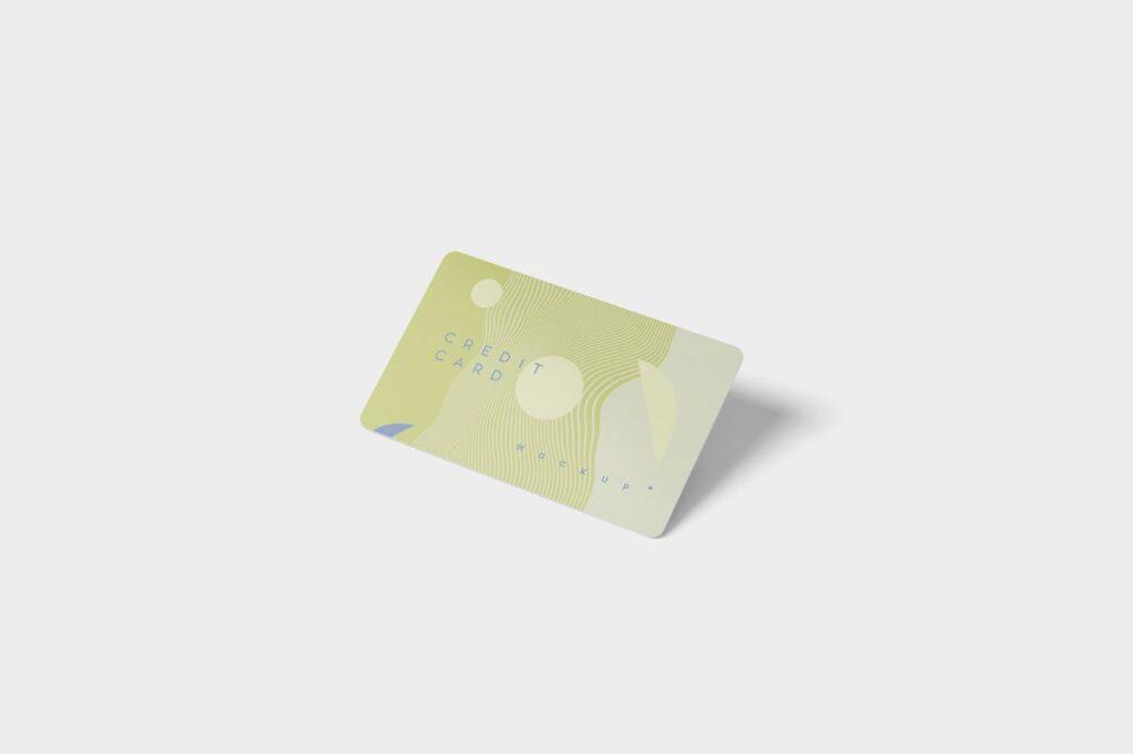 名片包装盒样机模型/信用卡模型样机素材下载5 Credit Card Mockups插图(3)