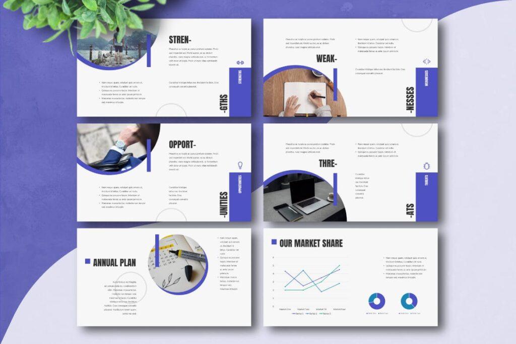 企业招标书宣讲PPT幻灯片模板BUSIGO Business Powerpoint Template插图(3)