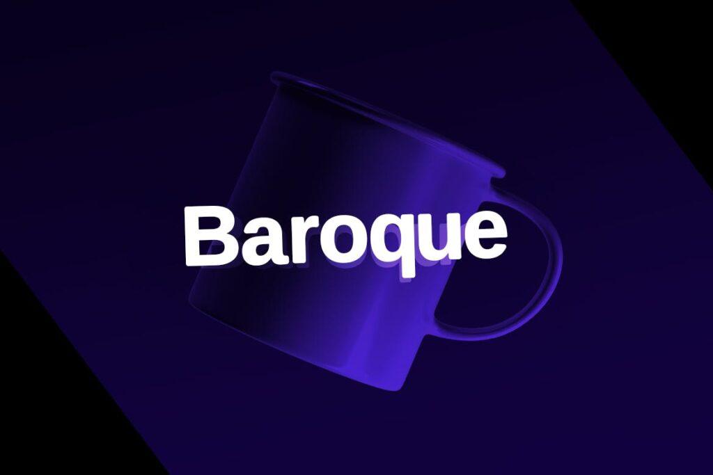 巴洛克风格的字体/品牌包装宣传字体下载Baroque sans Typeface Webfonts插图(3)