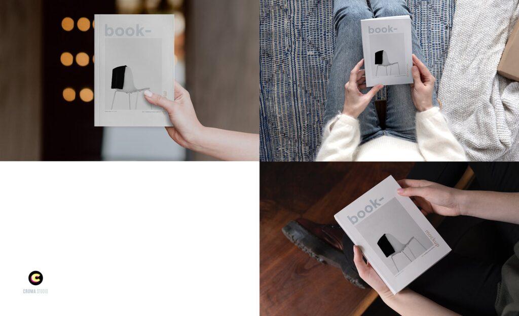 工业产品类平装书/精装书籍模型样机素材下载Book Mockups Ea6nquh插图(3)