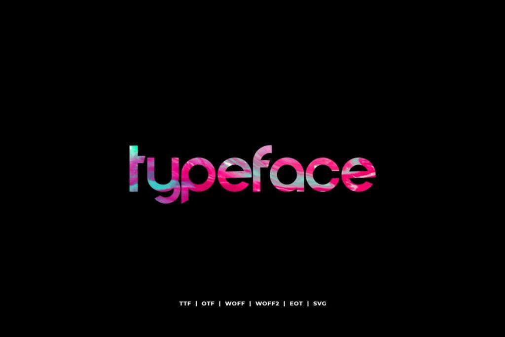 电影海报装饰英文手写字体下载Comodo Display Typeface WebFonts插图(3)