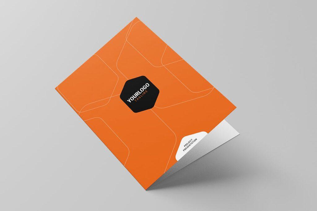 简约品牌识别系统样机模型效果图Corporate Stationery 2346evh插图(3)
