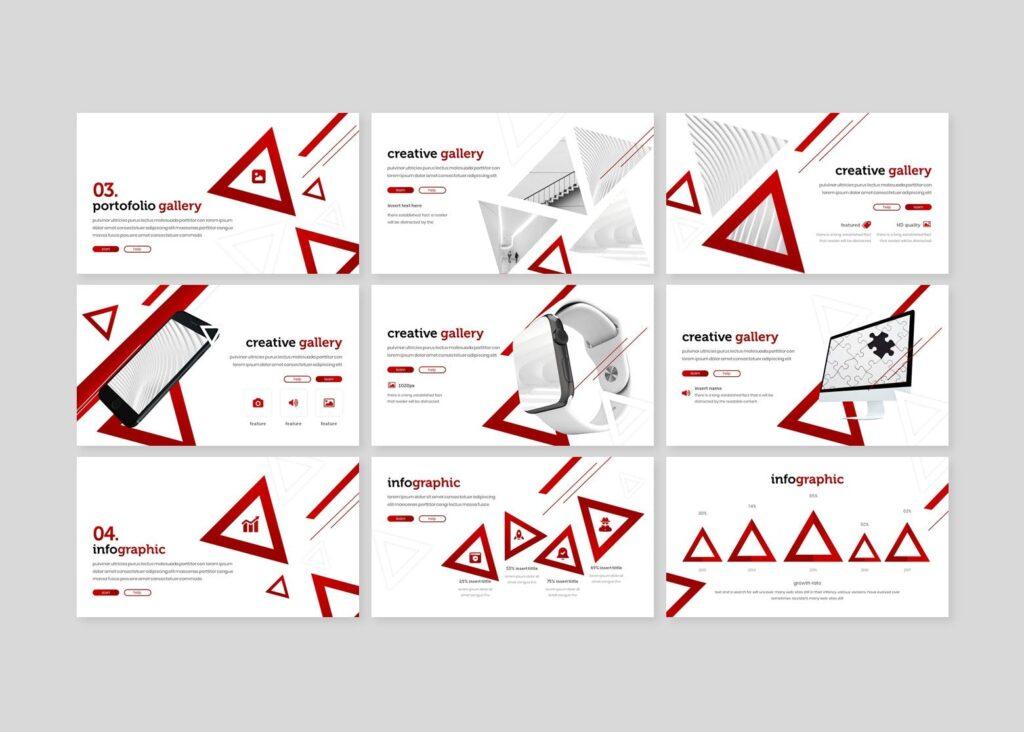 几何纹理礼仪活动宣讲PPT幻灯片模板Etiquette Powerpoint Template插图(3)