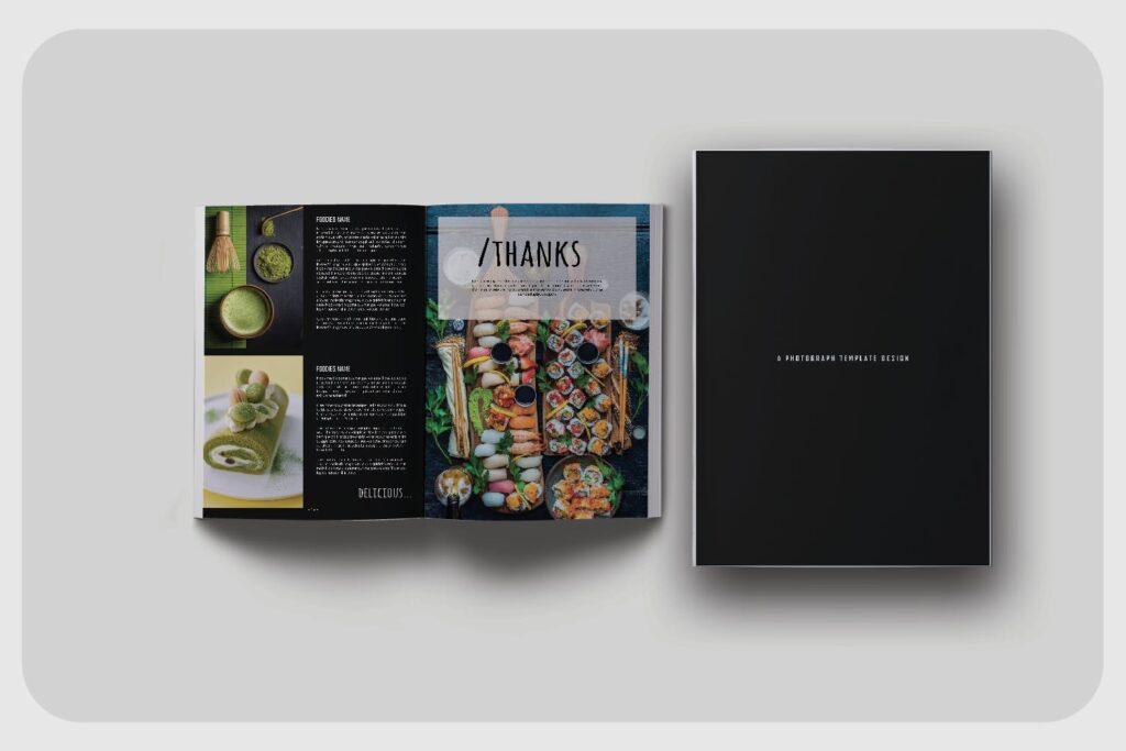 高端美食家餐饮美食料理周刊杂志模板FOODIES Photograph Lookbook插图(3)
