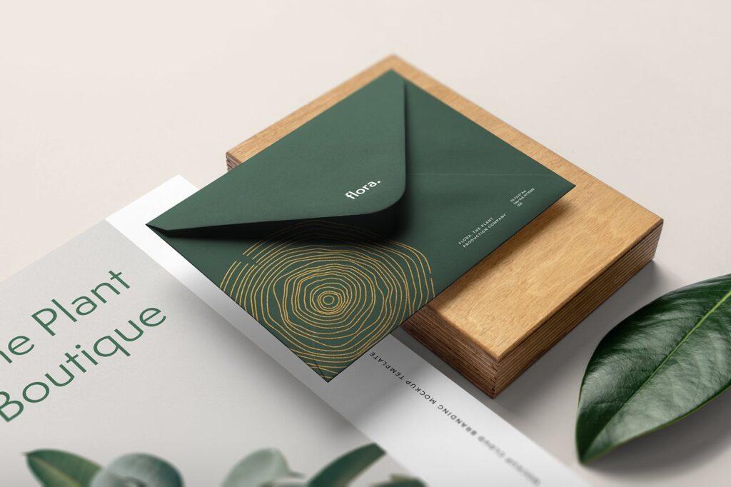 优雅的品牌VI样机模型样机下载Flora Branding Mockup Vol1插图(3)