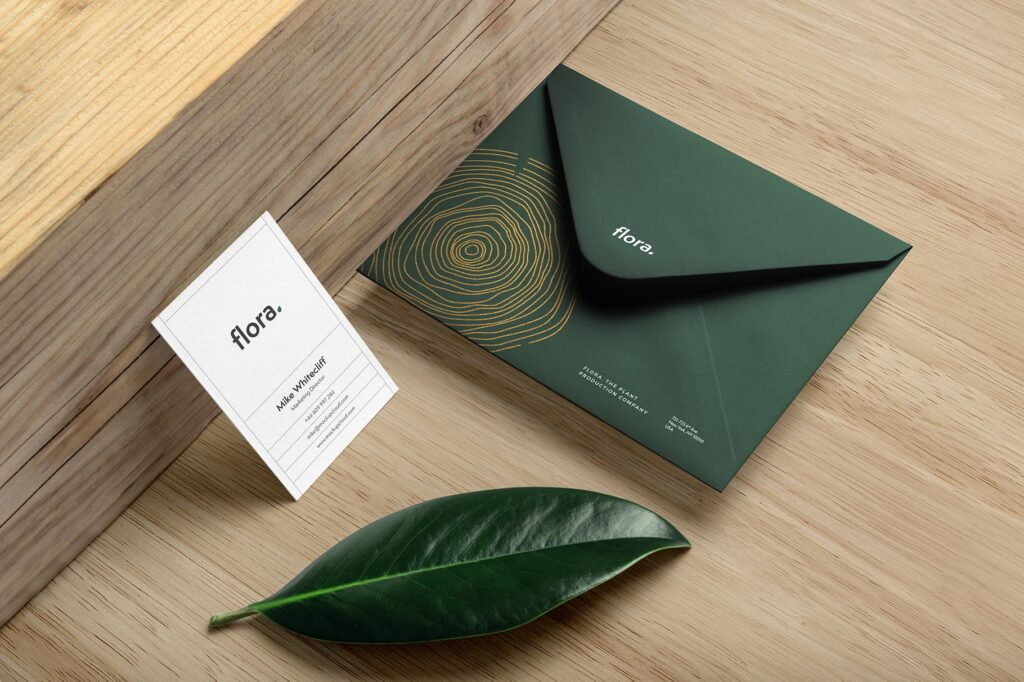 高端优雅品牌识别系统VI模型样机效果图Flora Branding Mockup Vol2插图(3)