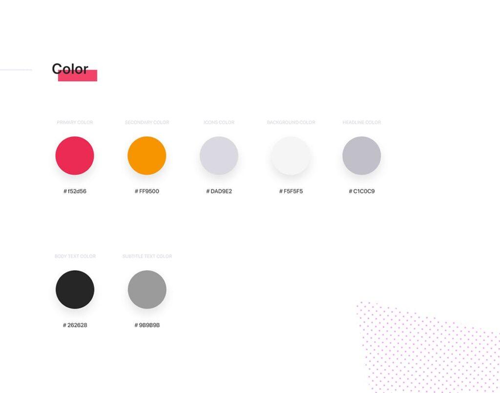 餐厅/食物和食谱应用程序UI组件模板素材Foody Food App UI Kit插图(3)