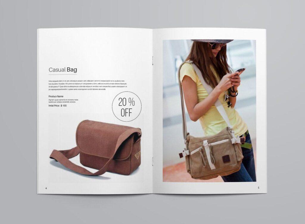 女性时尚用品产品目录画册模板InDesign Product Catalogue Template插图(3)