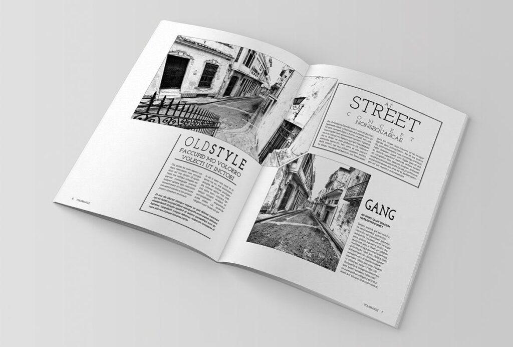 建筑行业/建筑设计作品介绍模板Indesign Magazine Template插图(3)