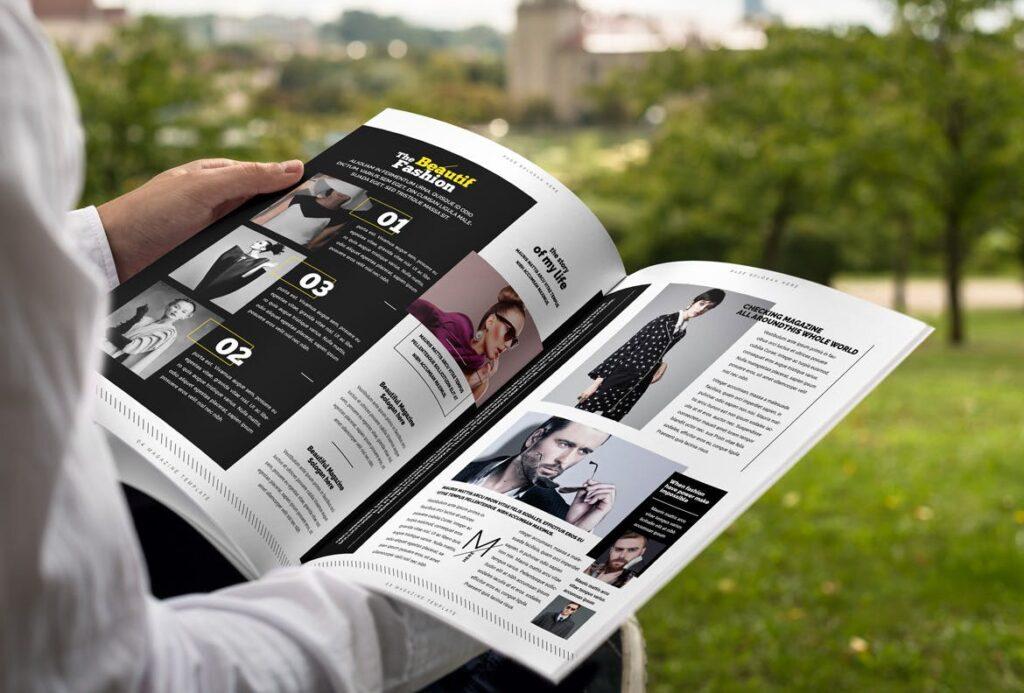 健身运动主题周刊杂志模板/Magazine插图(3)