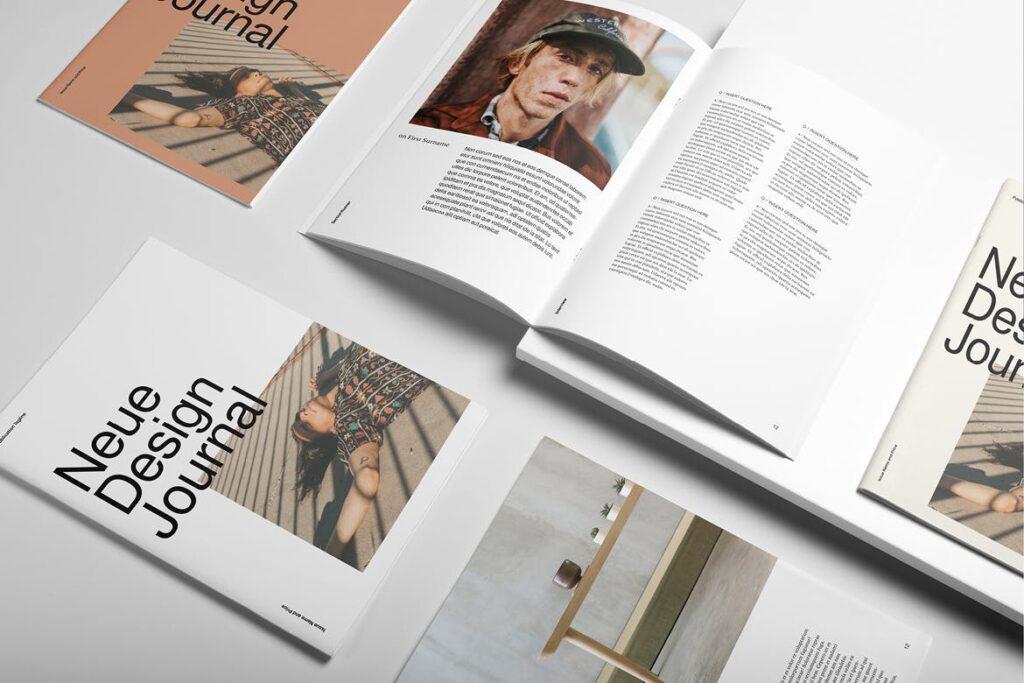 企业多用途业务介绍画册模板Neue Magazine插图(3)