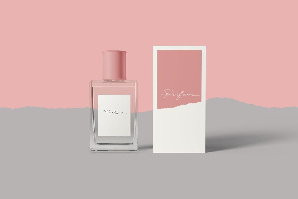 女性高端奢侈品牌香水样机模型效果图Perfume Mockups DM3N9SP插图(3)