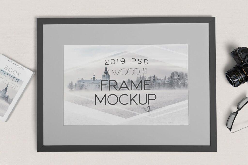 华丽相框模型样机素材下载Photography Frame Mockups插图(3)