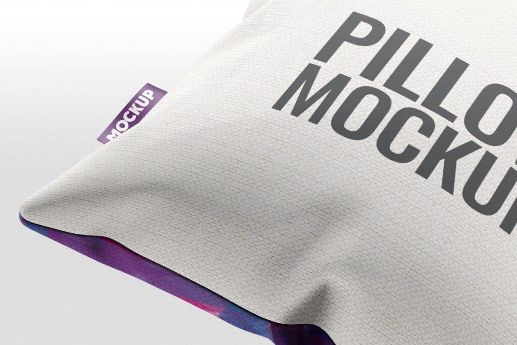 多角度抱枕样机3D模型效果图展示Pillow Mock Up Jb57q3插图(3)