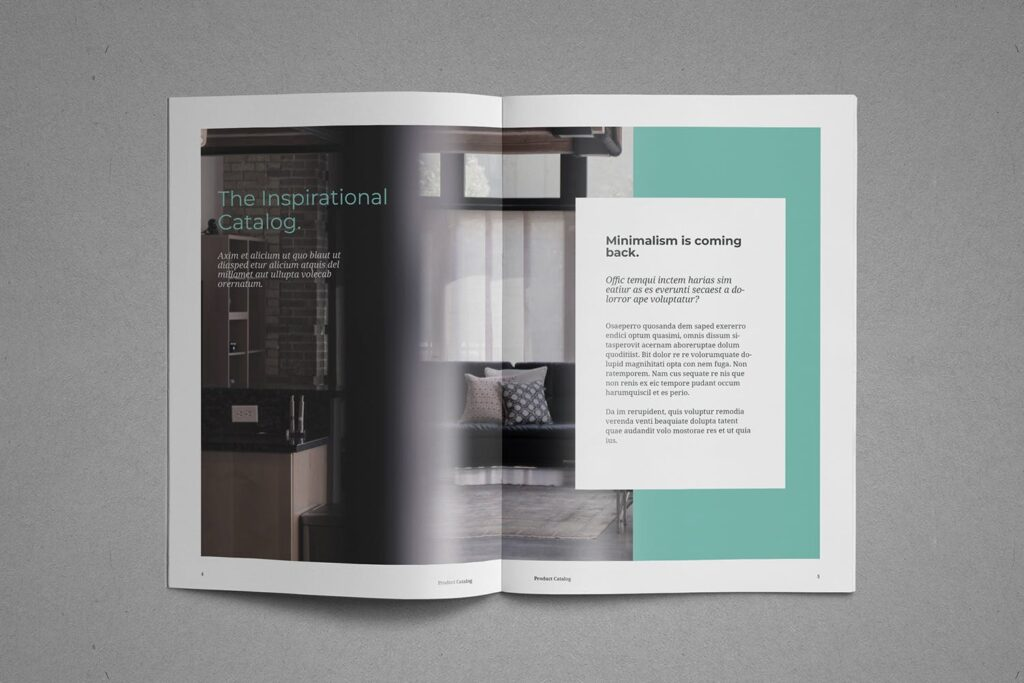 现代专业的产品目录小册子模板素材Product Catalog Brochure插图(3)