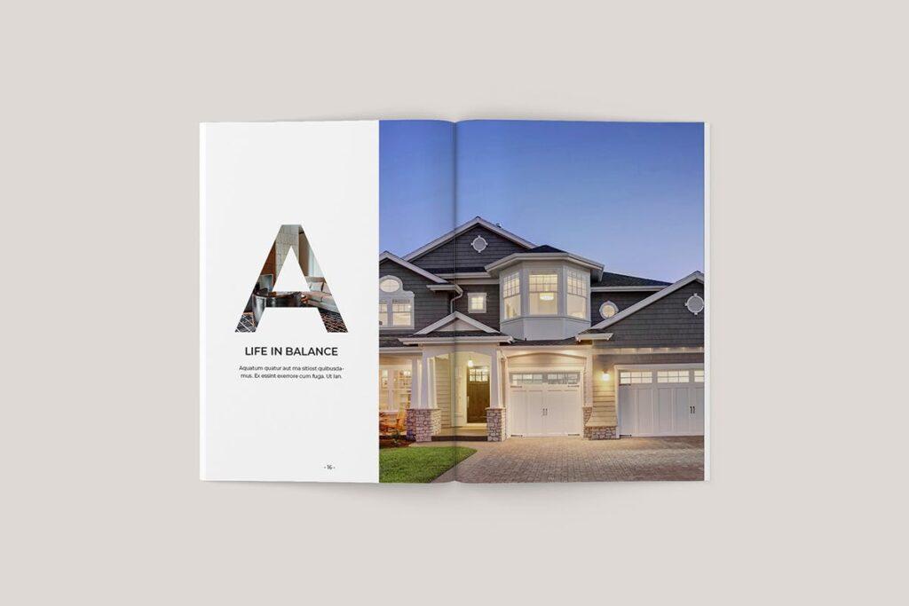 家居类企业宣传册/提案画册杂志模版Sirius Proposal Template插图(3)
