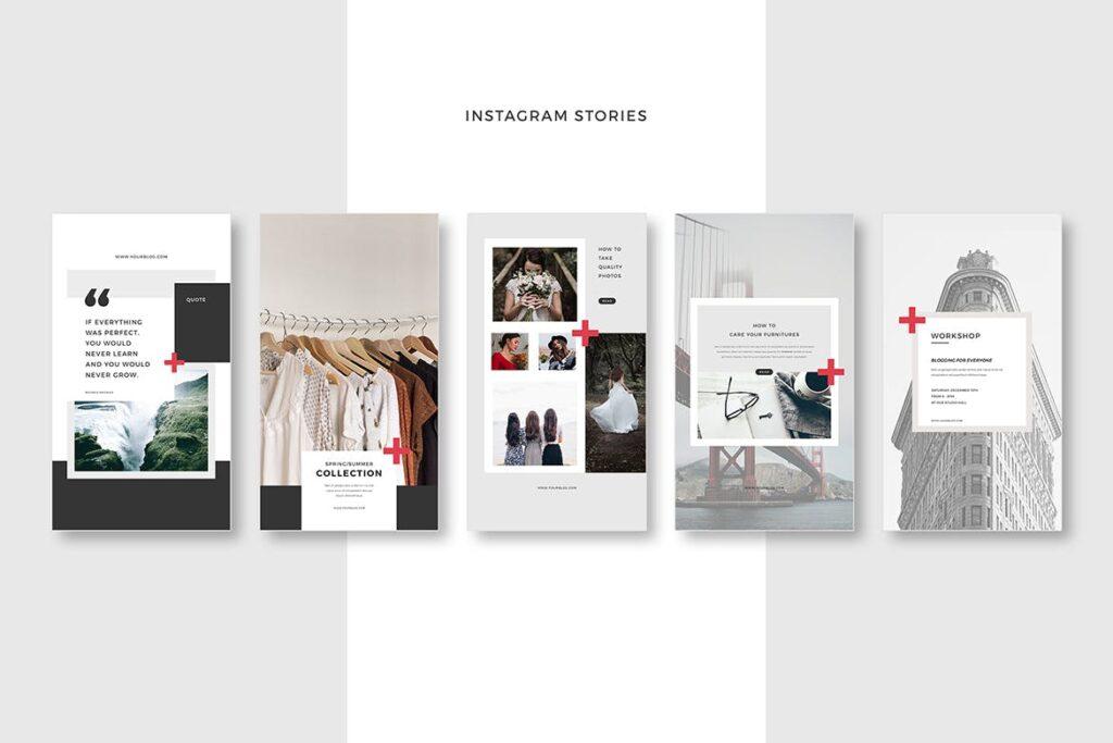社交网络媒体模板素材下载Social Media Pack Vol3插图(3)