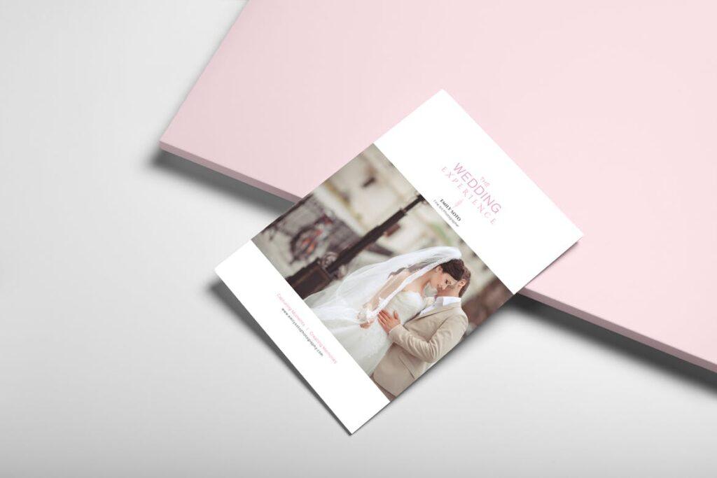 婚纱摄影价格指南/婚纱摄影工作室杂志画册模板Wedding Photography Price Guide插图(3)