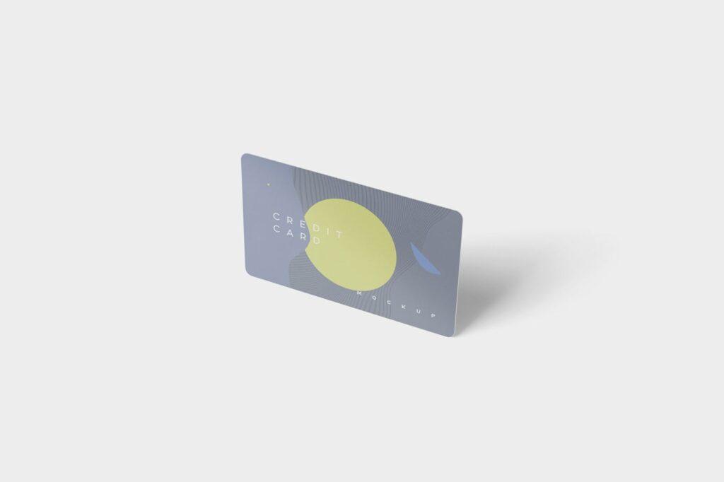 名片包装盒样机模型/信用卡模型样机素材下载5 Credit Card Mockups插图(4)
