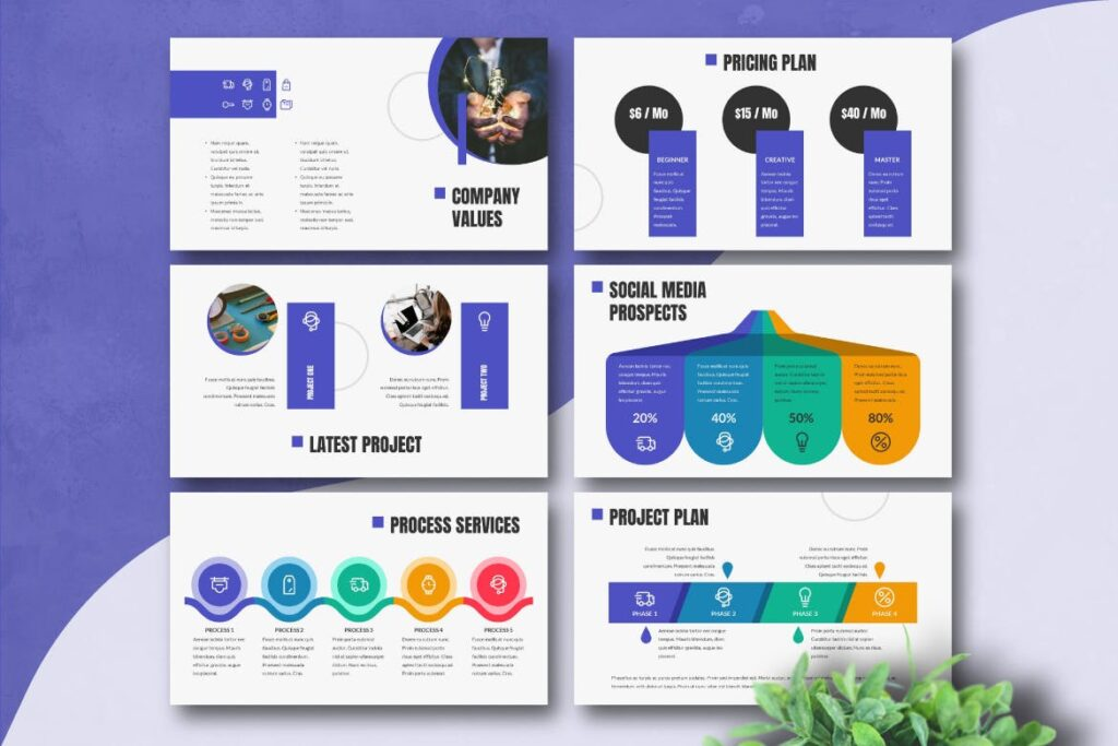 企业招标书宣讲PPT幻灯片模板BUSIGO Business Powerpoint Template插图(4)