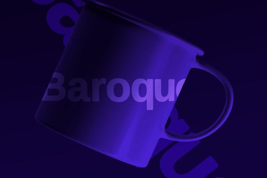 巴洛克风格的字体/品牌包装宣传字体下载Baroque sans Typeface Webfonts插图(4)