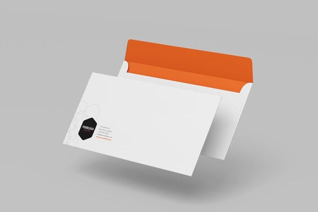 简约品牌识别系统样机模型效果图Corporate Stationery 2346evh插图(4)