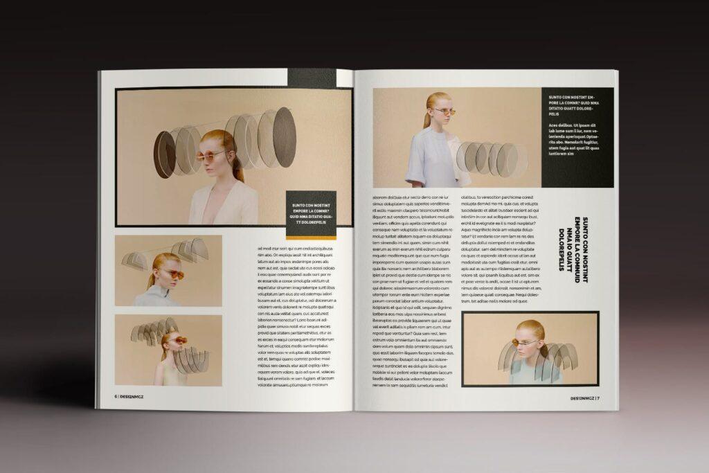 32页时代周刊画册杂志模板Des12n Magazine Indesign Template插图(3)