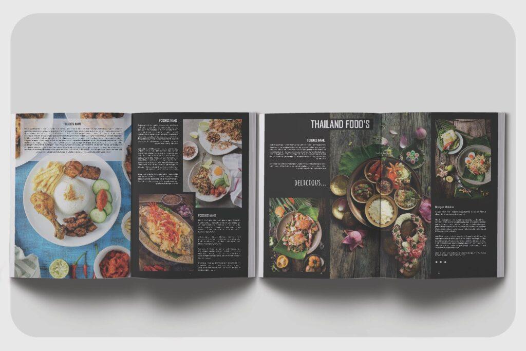 高端美食家餐饮美食料理周刊杂志模板FOODIES Photograph Lookbook插图(4)