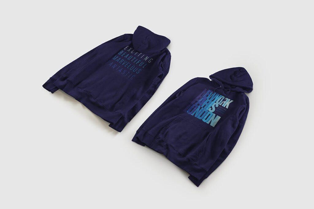 卫衣服装品牌展示样机模型效果图Hoodie Sweatshirt Presentation Mockup插图(4)
