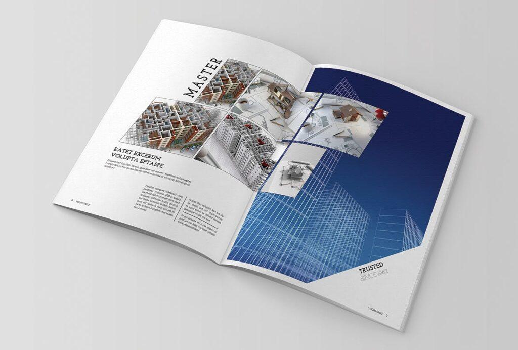 建筑行业/建筑设计作品介绍模板Indesign Magazine Template插图(4)