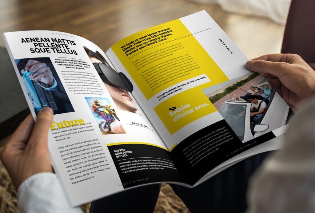 健身运动主题周刊杂志模板/Magazine插图(4)