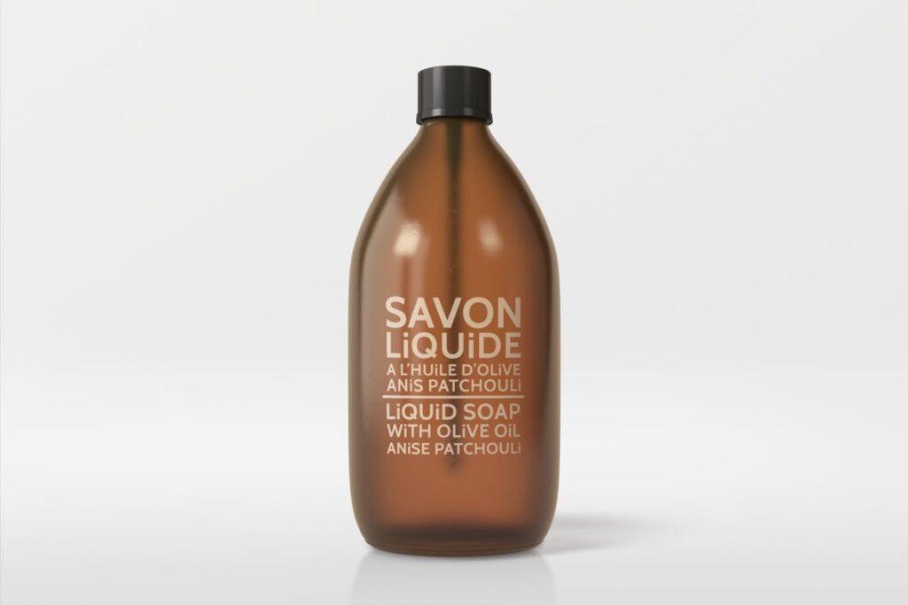 棕色天然化妆品包装瓶实物模型样机Natural Cosmetic Packaging Mock Ups Vol3插图(3)