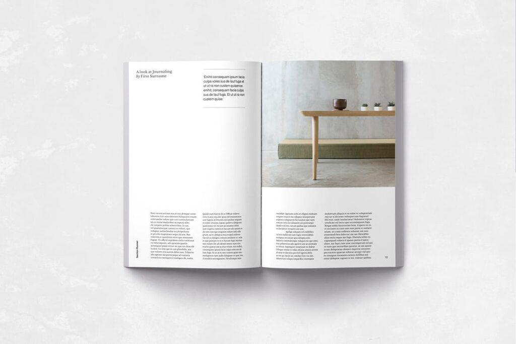 企业多用途业务介绍画册模板Neue Magazine插图(4)