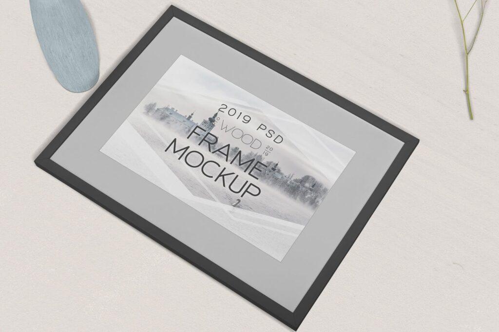 华丽相框模型样机素材下载Photography Frame Mockups插图(4)