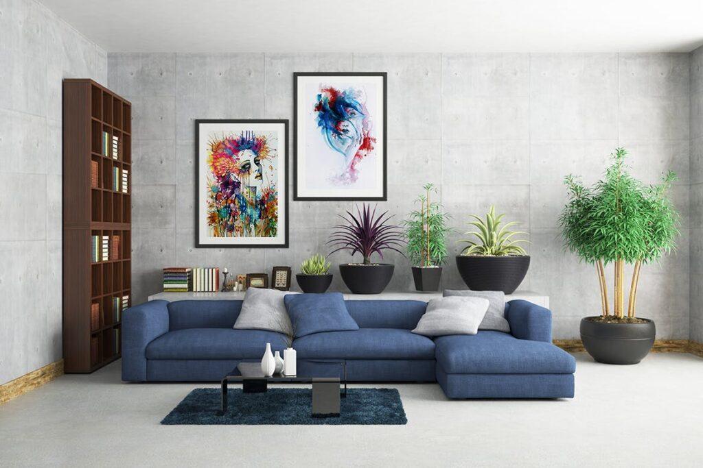 古典室内风格装饰相框模型样机效果图Picture Art Mockup Vol 9插图(4)
