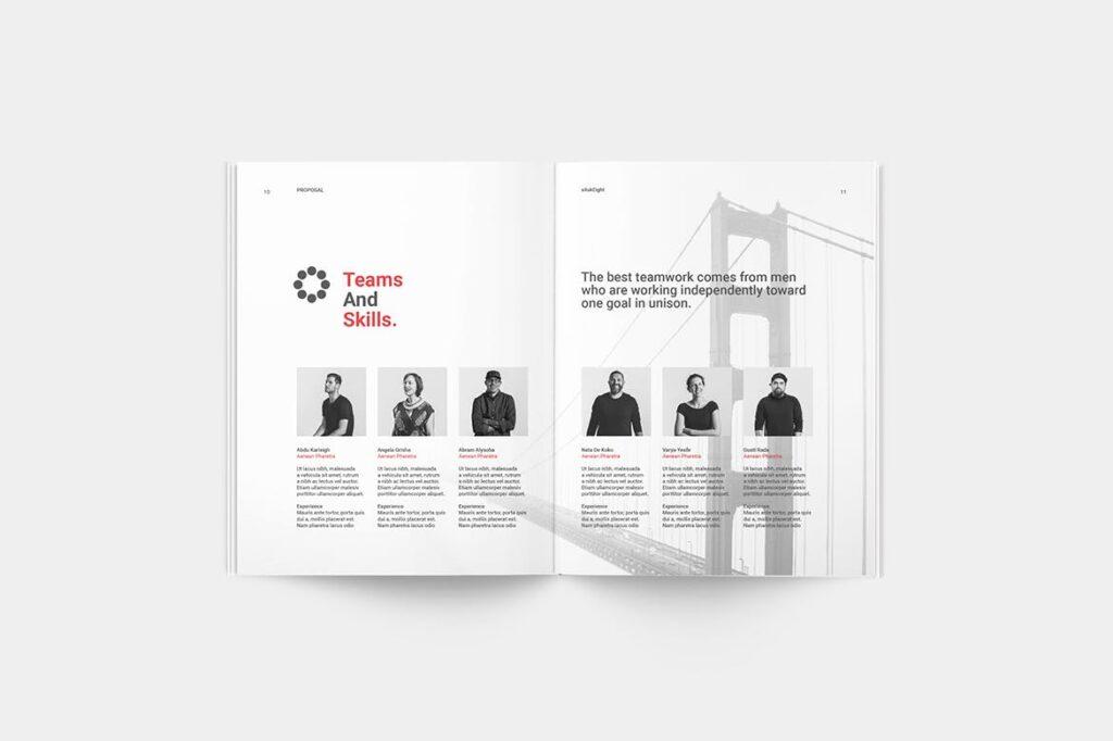 企业商业计划书企业内部提案模板Proposal插图(3)