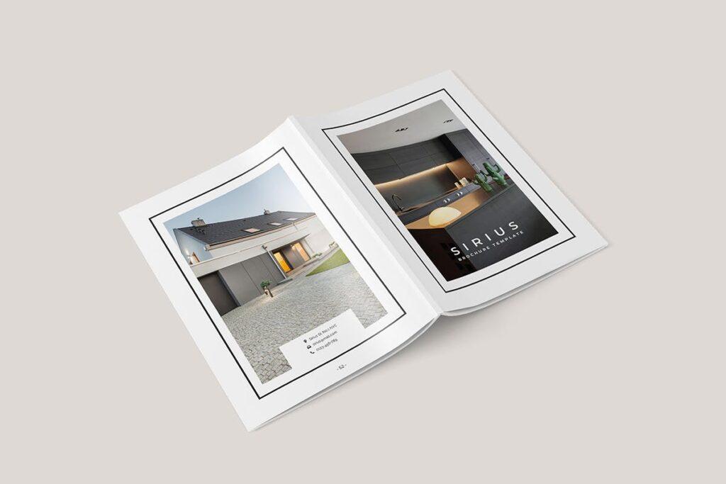 家居类企业宣传册/提案画册杂志模版Sirius Proposal Template插图(4)