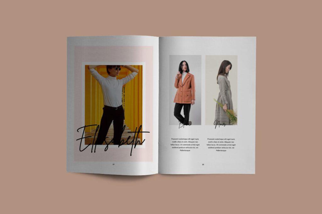 工作室室内设计行业产品目录展示画册Style Fashion Brochure Minimal Company Agency插图(4)