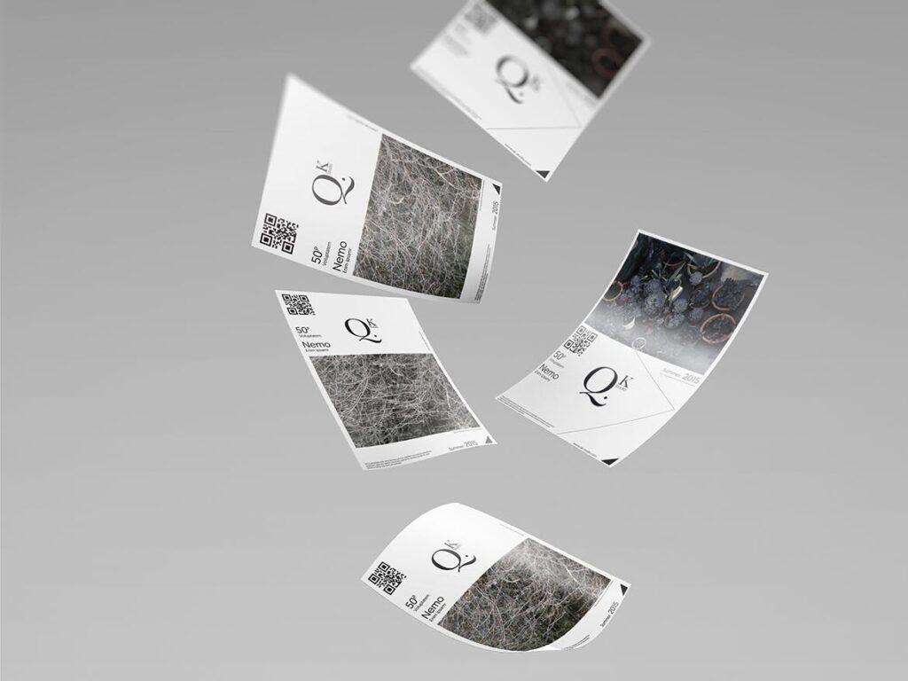 企业传单宣传册模型素材样机下载A4 A5 Poster Flyer Mockups V4插图(4)