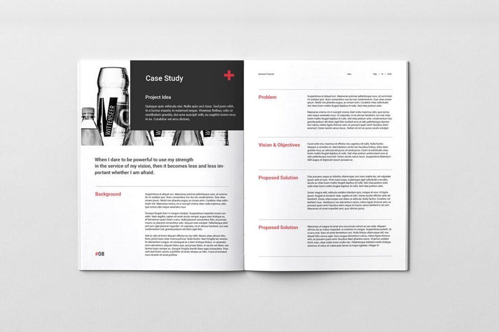 公司手册项目企划书画册模版素材Business Proposal插图(5)