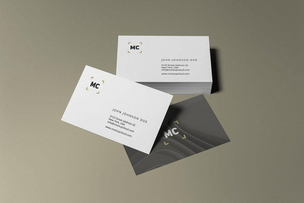 高端优质商务品牌办公文具VI模型样机素材下载Business Stationery Branding Mockup插图(5)