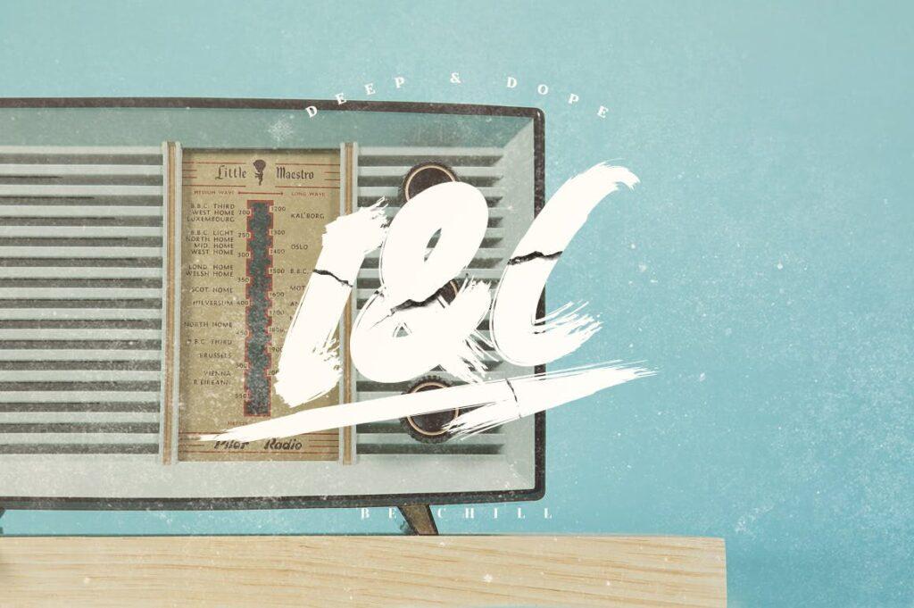 网站标题毛笔笔刷字体下载Elrotex Brush Font插图(5)