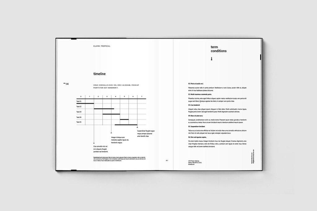 多用途商务手册企业画册模版素材Fashion Proposal插图(5)
