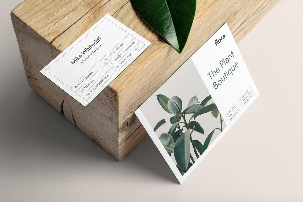 优雅的品牌VI样机模型样机下载Flora Branding Mockup Vol1插图(5)