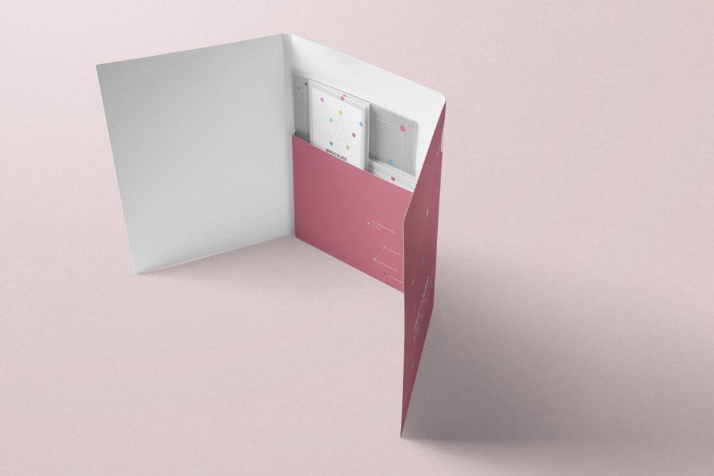精致品牌装饰文件夹模型样机效果图Folder Mockups LCSE2W7插图(5)