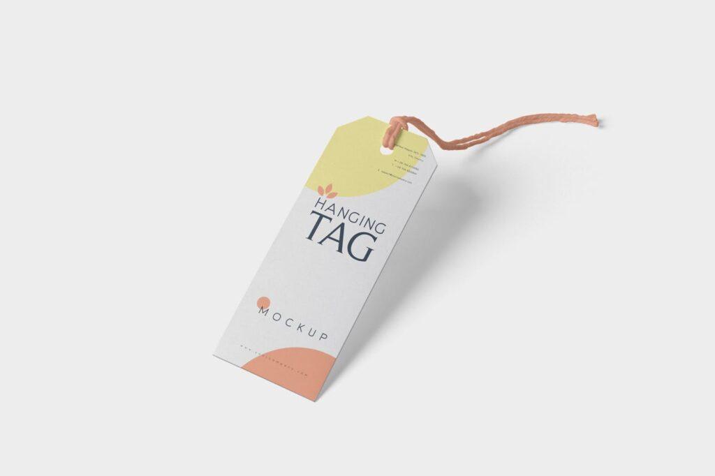方形/圆形服装吊牌模型样机素材下载Hanging Tag Mockups NG5P4SM插图(5)