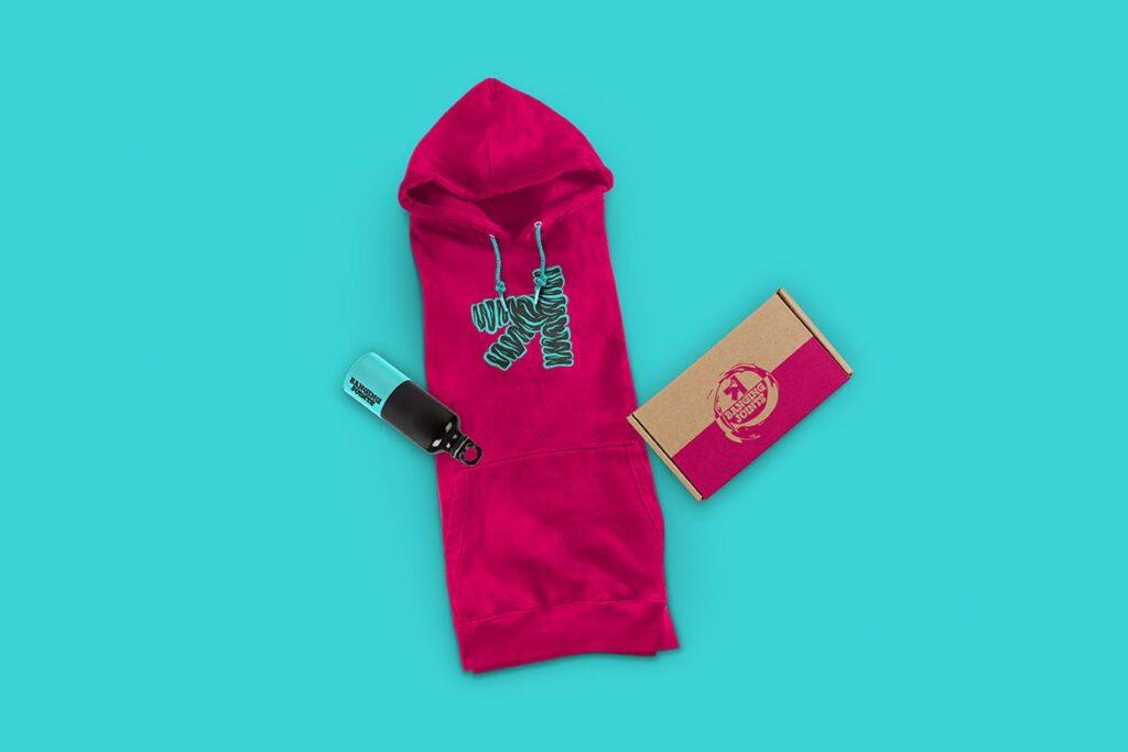 卫衣服装品牌展示样机模型效果图Hoodie Sweatshirt Presentation Mockup插图(5)