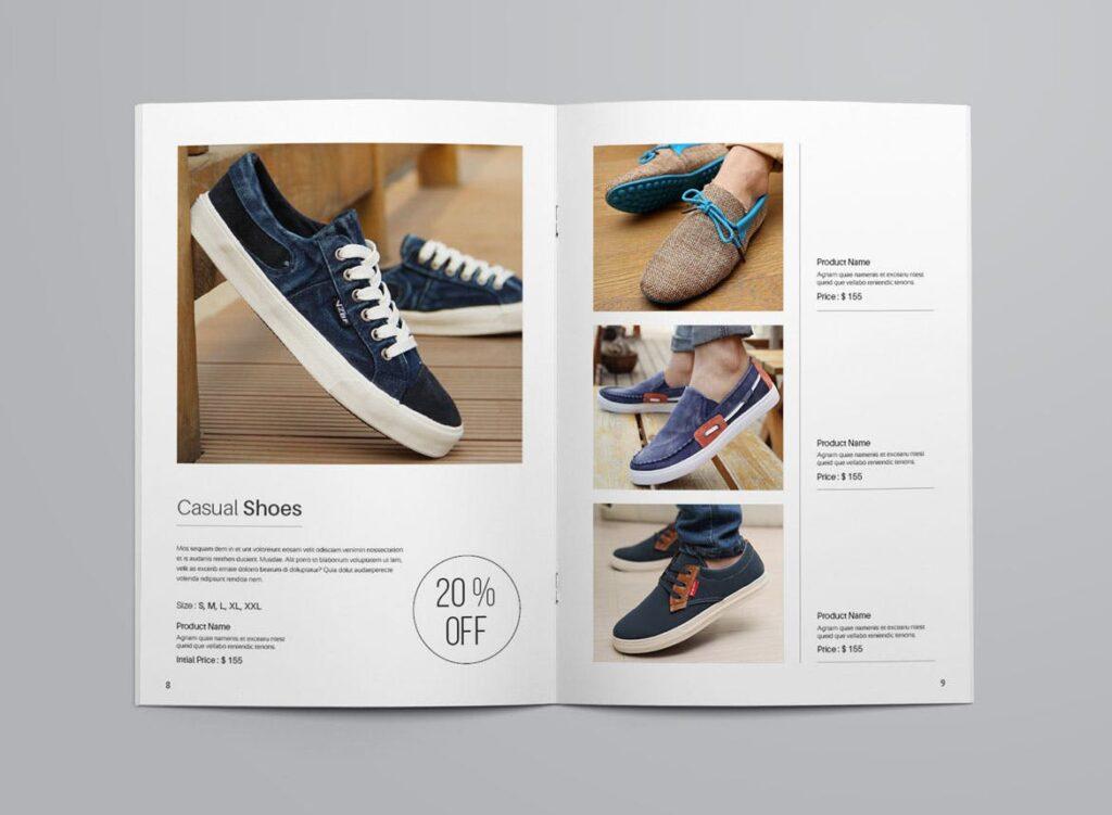 女性时尚用品产品目录画册模板InDesign Product Catalogue Template插图(5)